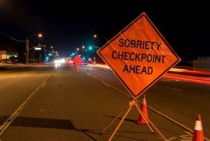 North Carolina Sobriety Checkpoint