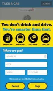 avoid a north carolina dwi with a website