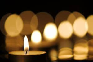 candlelight vigil for drunk driving victims