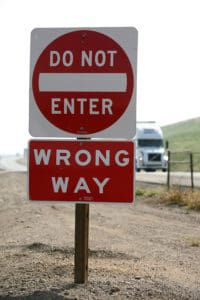 Wrong-Way Drivers are lethal